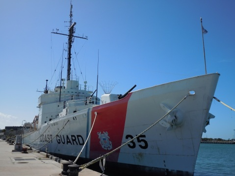 Image by Chris Eger. All others this post are either by me, or the USCG Historians office