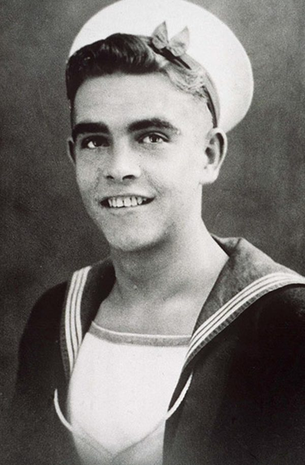 Sean Connery during his time with the Royal Navy in 1946