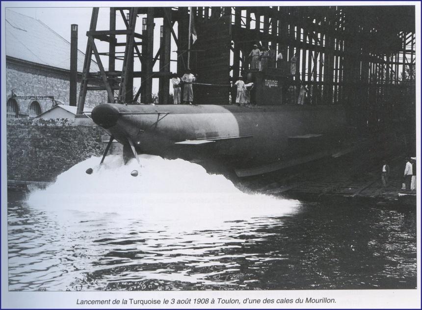 Launching 1908