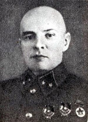 Kolchigin, in Red Army regalia.