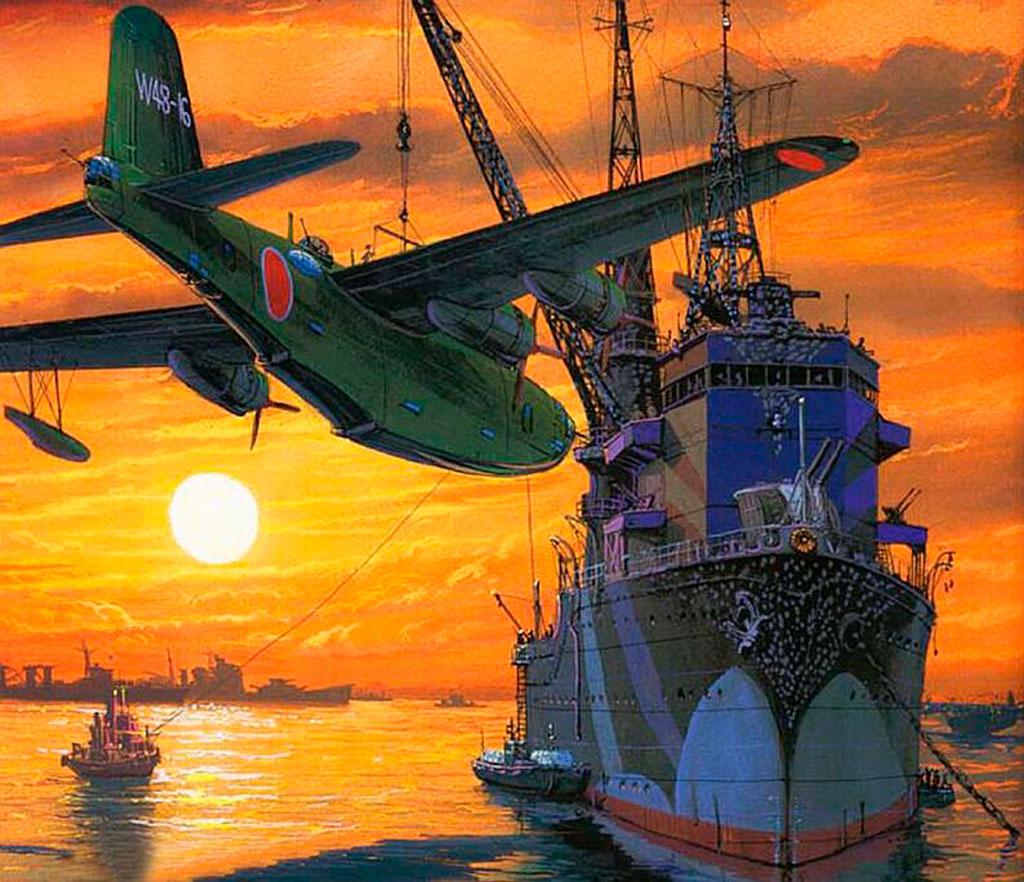 IJN Akitsushima flying boat tender