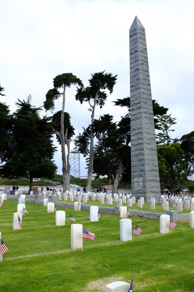 USS Bennington Monument, Fort Rosecrans, San Diego