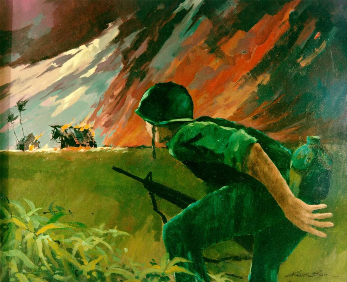 Attack at Twilight Roger Blum, Vietnam, 1966