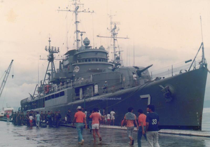 BRP Andres Bonifacio (PF-7) circa 1986