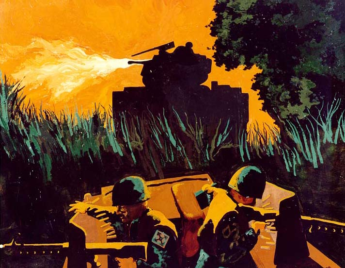 COMBAT IN THE CENTRAL HIGHLANDS Vietnam by Bruce J. Anderson