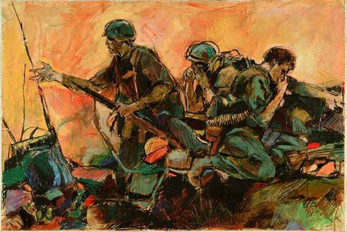 """Last Stand"" – Phillip W. Jones, 1967-68 vcap"