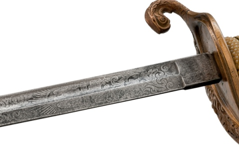 M1852 Naval officer's sword issued to the Revenue Cutter Service2