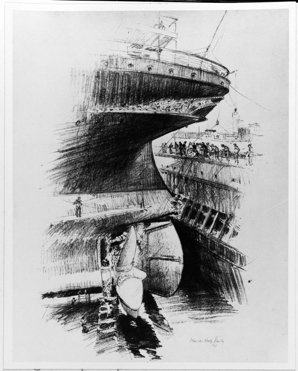 NH 86449 USS Kaiser Wilhelm II
