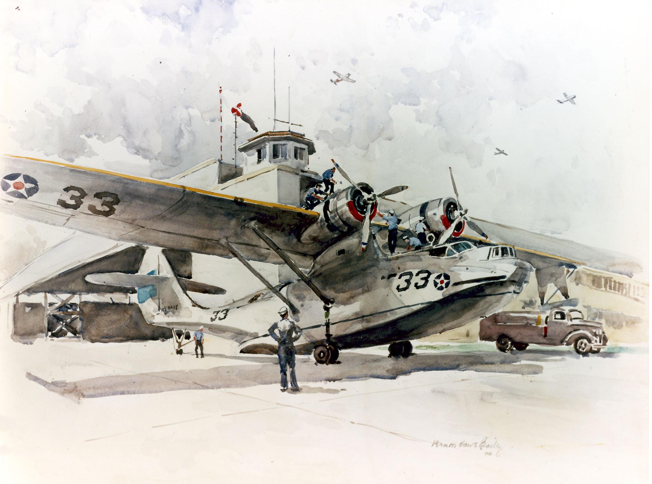Patrol Plane 33.