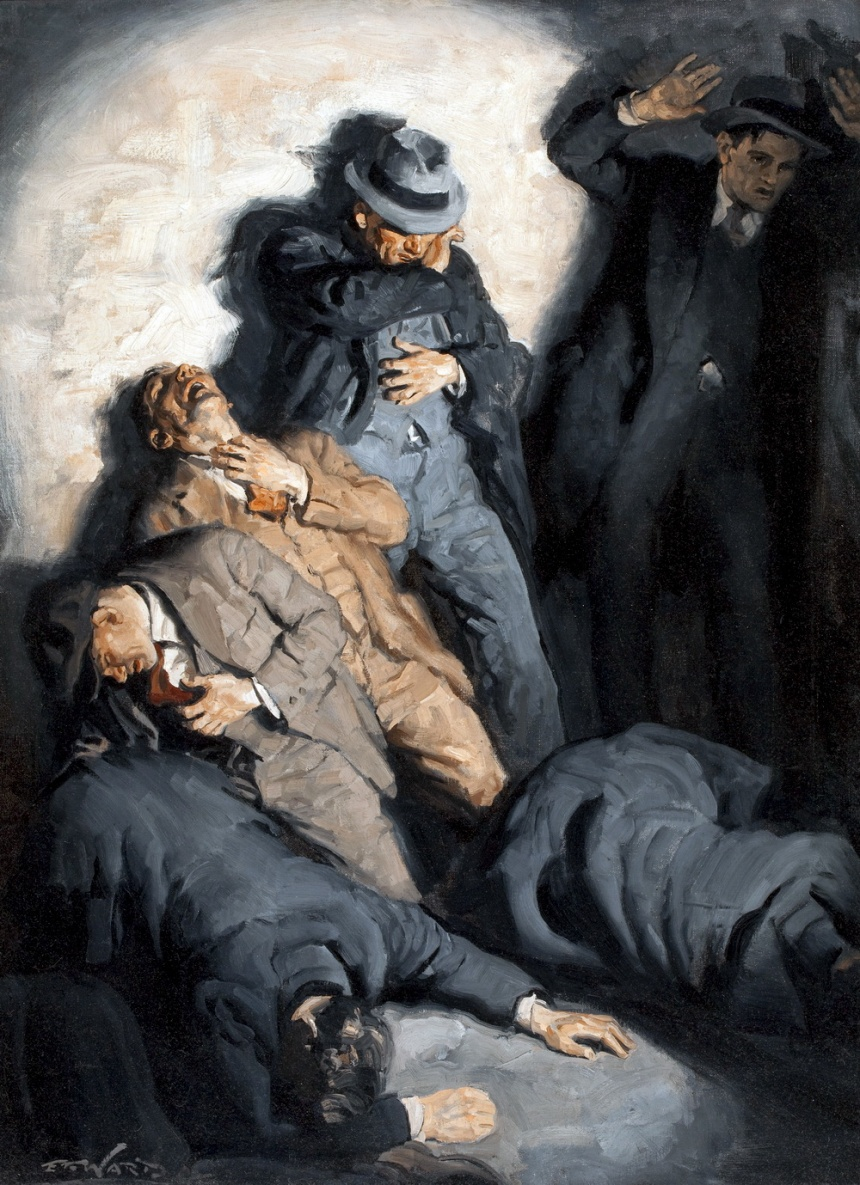 "St. Valentine's Day Massacre"" by Edmund F. Ward"