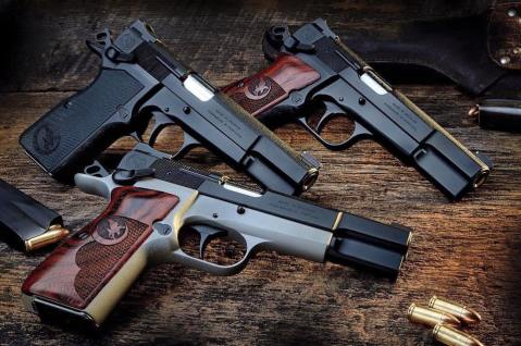 The Browning Hi-Power family from Nighthawk Custom Firearms of Berryville Arkansas