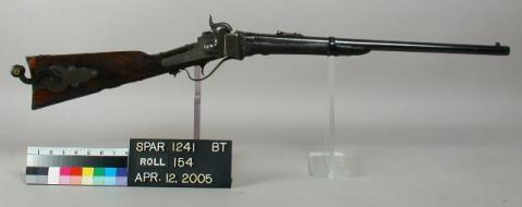 The 'coffee grinder' Sharps Carbine with a mill right in the stock (10)