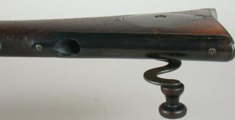 The 'coffee grinder' Sharps Carbine with a mill right in the stock (5)