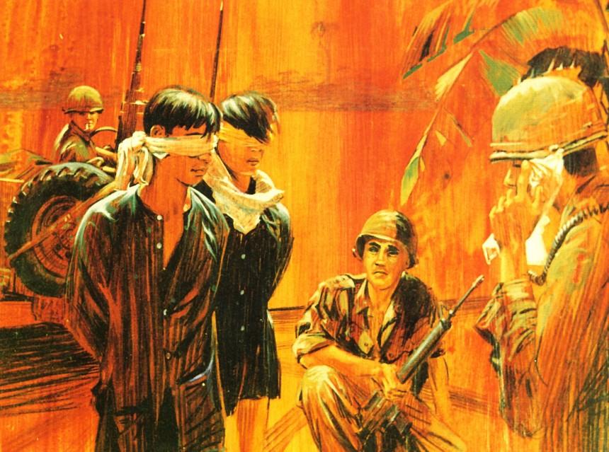Viet Cong Suspects Vietnam By Ronald A. Wilson, 1968