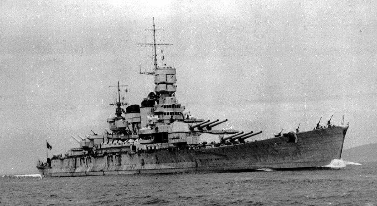 Roma upon commissioning