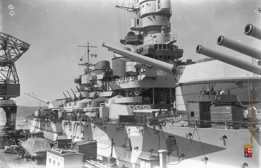 battleship-roma-deck-guns-and-turrets-5