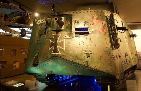 Mephisto_A7V_in_AWM_front_view