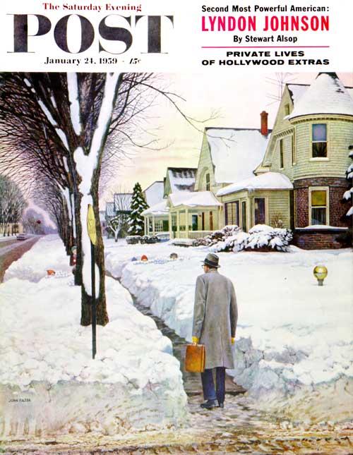 Snowy Ambush by John Falter
