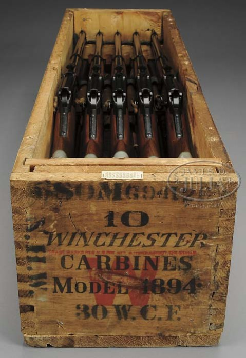 10 unissused Winchester Model 94 Saddle Ring carbines in .30-30
