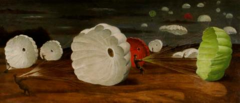 A Parachute-landing 1940