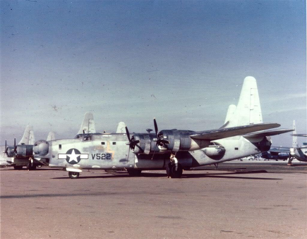 Aircraft is PB4Y-2 59522 VPB-109 (Miss Lotta Tail)