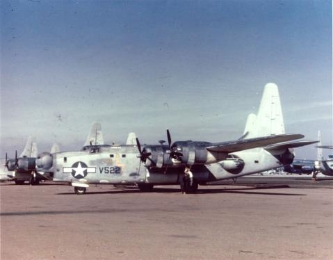 Aircraft is PB4Y-2 59522 VPB-109 (Miss Lotta Tail)
