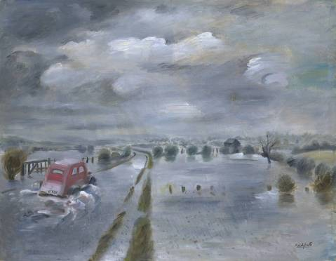 Floods circa 1935 Roland Vivian Pitchforth 1895-1982 Purchased 1938 http://www.tate.org.uk/art/work/N04933