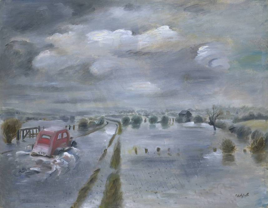 Floods circa 1935 Roland Vivian Pitchforth 1895-1982 Purchased 1938 http://www.tate.org.uk/art/work/N04933