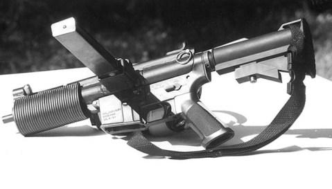 FrankenSTEN m16 sten mag 9mm 3