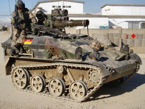 german Rheinmetall AG Wiesel armored weapons carrier isaf 3
