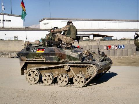 german Rheinmetall AG Wiesel armored weapons carrier isaf 5