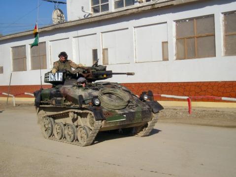 german Rheinmetall AG Wiesel armored weapons carrier isaf