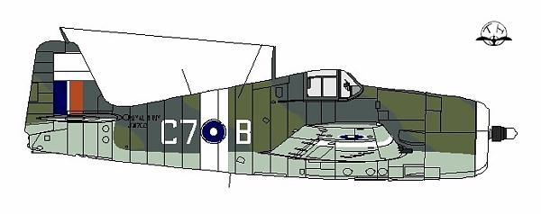 Hellcat II, JW872, 808 Squadron, HMS Khedive Malay Coast, June 1945 © Scott Fraser via Fleet Air Arm Archive