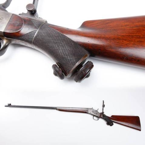 Remington rolling block target rifle