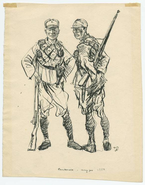 Cantonese soldiers in China 1932