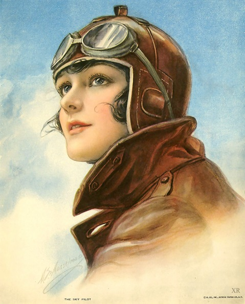 the sky pilot 1930s advertising