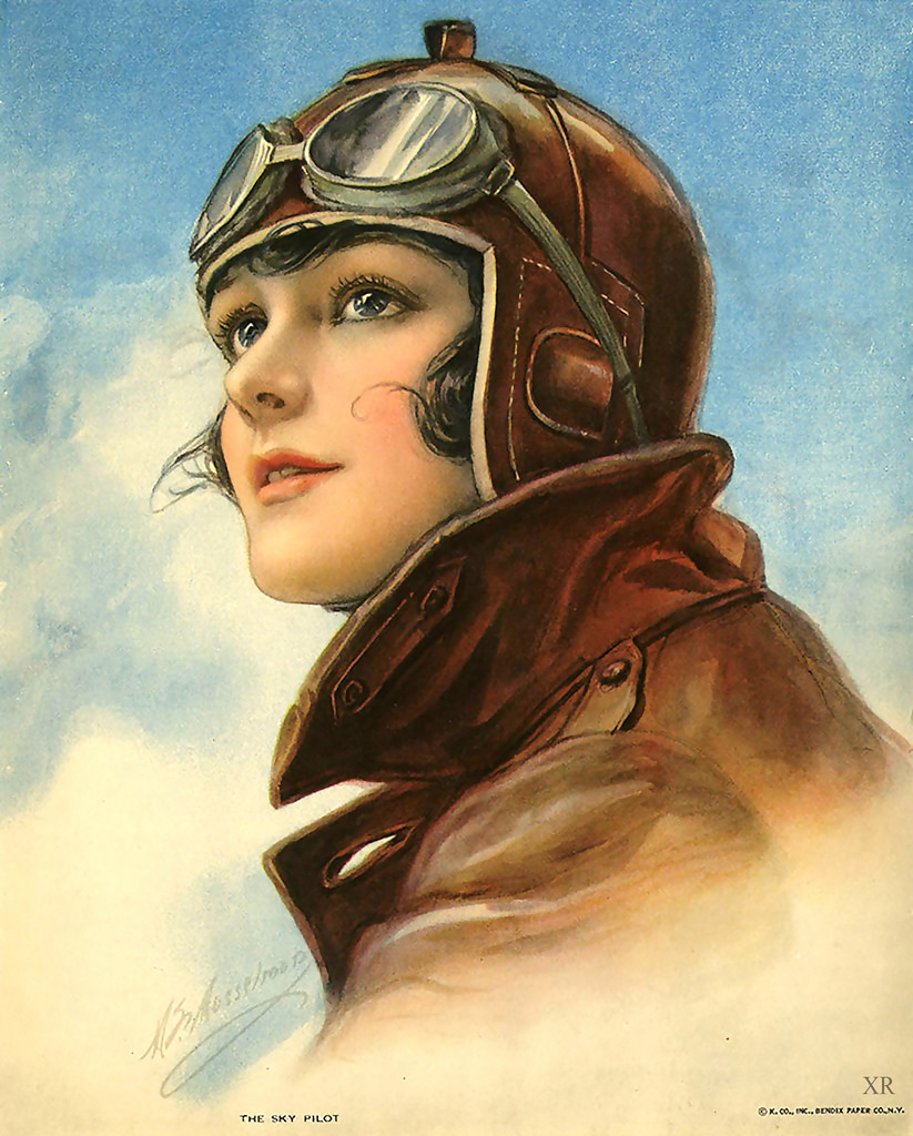 the sky pilot 1930s advertising