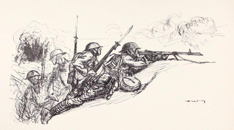 The Automatic Riflemen, Fix Bayonets