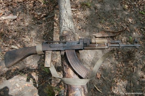 This preowned AK still worked when taken off a poacher in Africa
