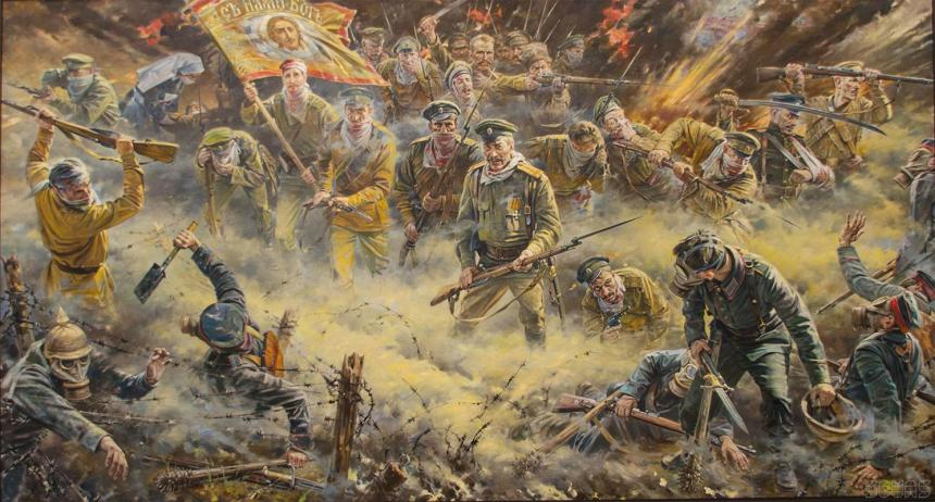 Attack of the Dead. Osowiec, Poland, the Russian Empire. August 6, 1915 a