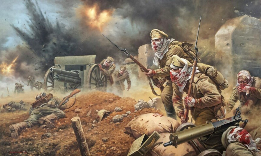 Attack of the Dead. Osowiec, Poland, the Russian Empire. August 6, 1915