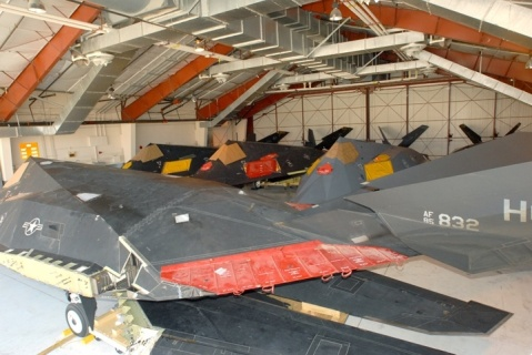 f-117 stored