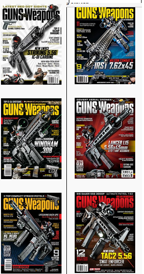 guns and weapons covers