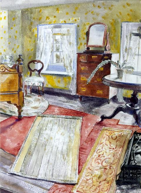 Interior c.1930-2 Thomas Hennell 1903-1945 Purchased 1940 http://www.tate.org.uk/art/work/N05411