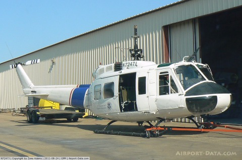 N7247J, Bell UH-1H CN 69-15533, At Grand Prairie