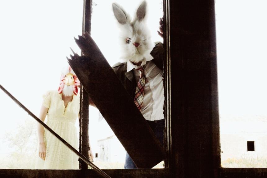 part of Eliot Lee Hazel's The Poppy Field Gang easter bunny 2