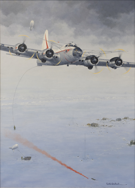 Seven Days in the Arctic by Keith Woodcock, Oil on Canvas, 2007, CIA collection  https://www.cia.gov/library/center-for-the-study-of-intelligence/csi-publications/csi-studies/studies/vol52no2/iac/seven-days-in-the-arctic.html