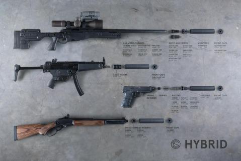 silencerco hybrid series