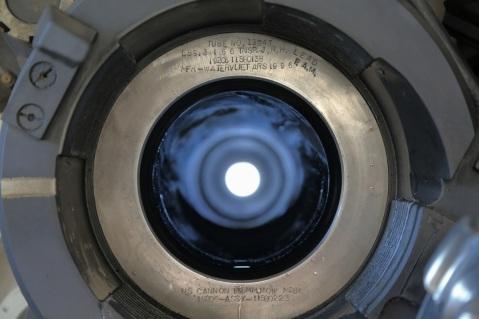 Inside a Paladin gun tube