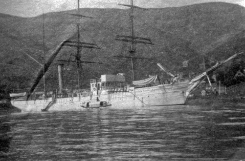 c. 1905 USRC Thetis in Hawaiian waters Donated to Mare Island Shipyard in 1987 by 2nd LT Francis R. Shoemaker Mare Island photo PG Thetis Hawaii 1904-05. Via Navsource